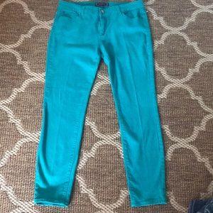 Kardashian Kollection colored jeans